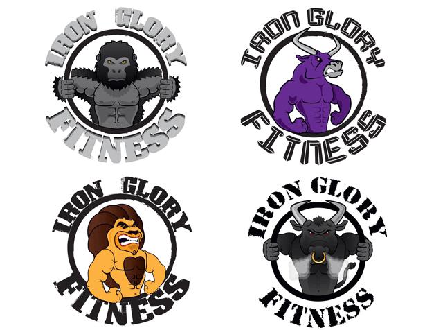 Logo Varianten Iron Glory