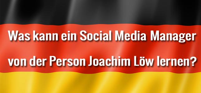 Social Media Marketing Joachim Löw