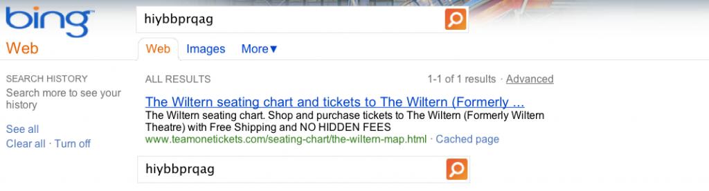 """Suchergebnis für den von Google erfundenen """"synthetischen"""" Suchbegriff """"hiybbprqag"""""""