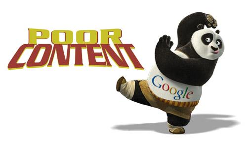 Google Panda poor content Content-Farmen