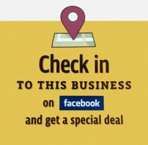 Schnäppchen durch Check in auf Facebook Places und Deals